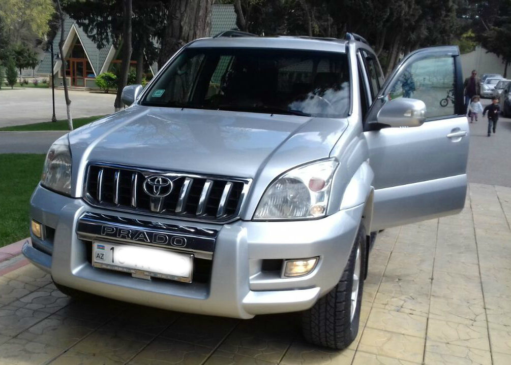 Toyota Prado/ Land cruiser