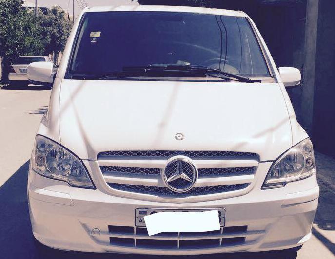 Mercedes Viano VVIP