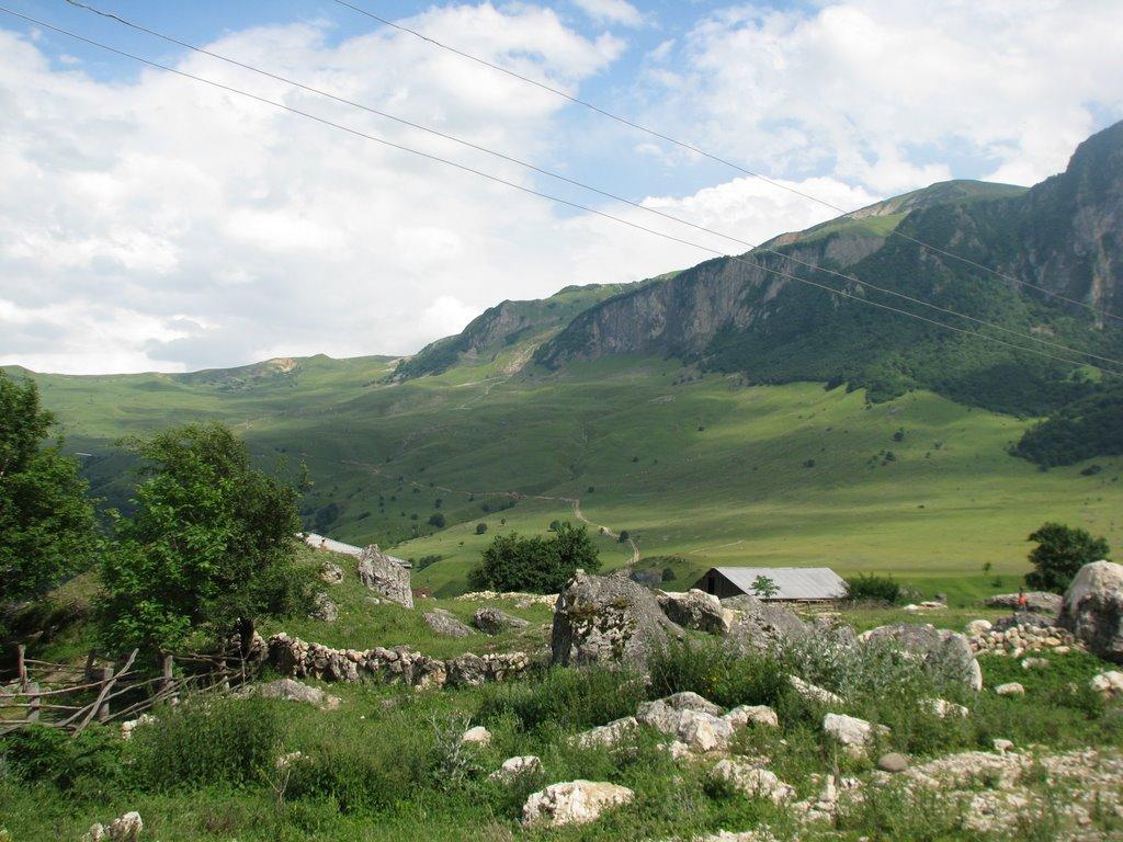 Khinalyg road