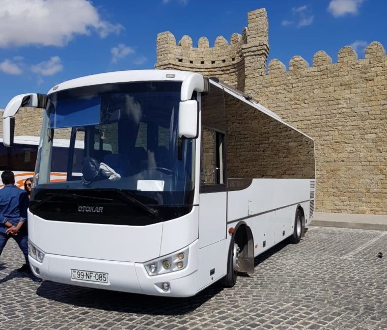 Otokar transfer in Baku