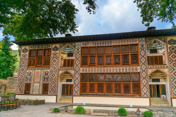 Shaki Khans Palace Azerbaijan
